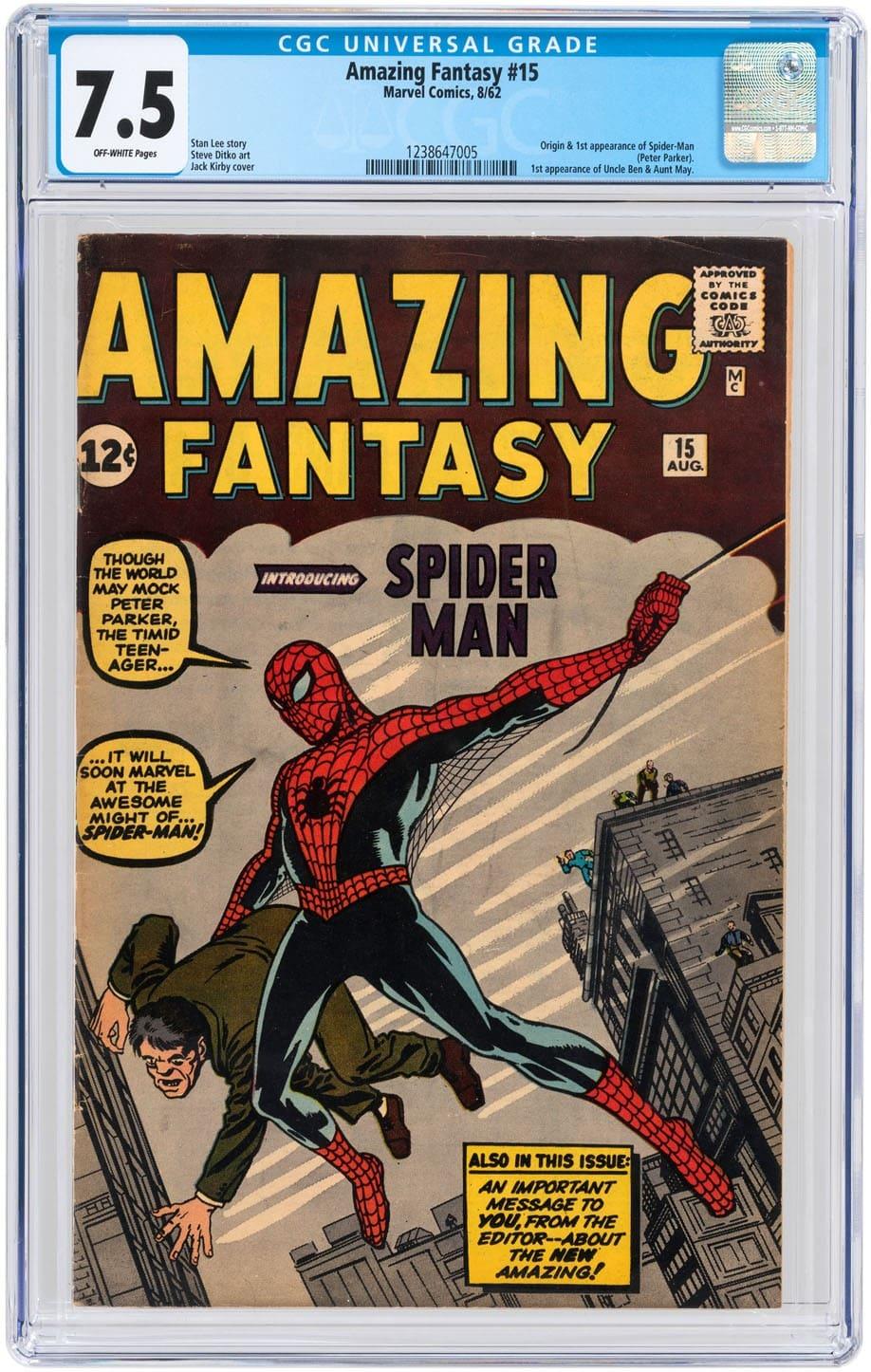 comic book investing