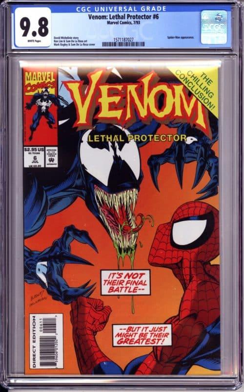 graded comic mystery box spider-man