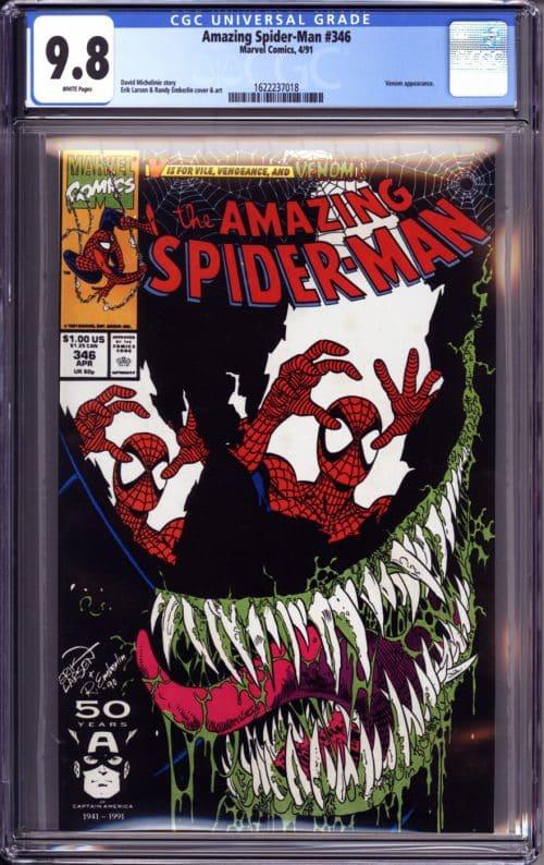 graded comic mystery box venom