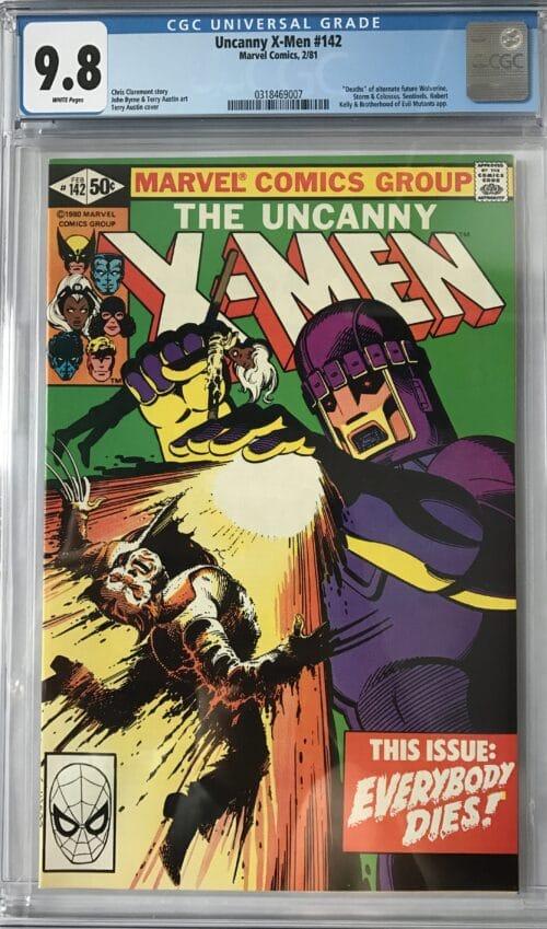 graded comic mystery box x-men