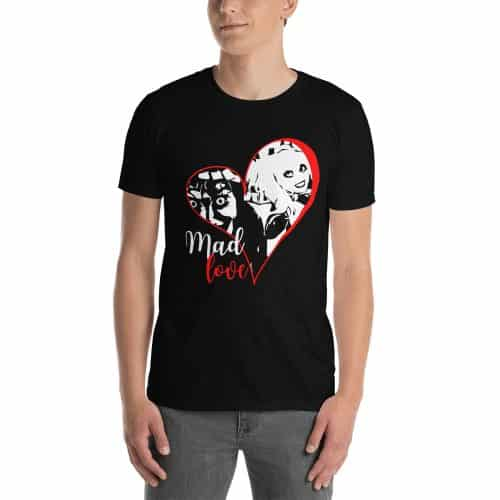comic book t-shirts mad love