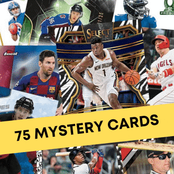 75 Mystery Sports Cards